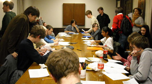 Doc Films programming meeting